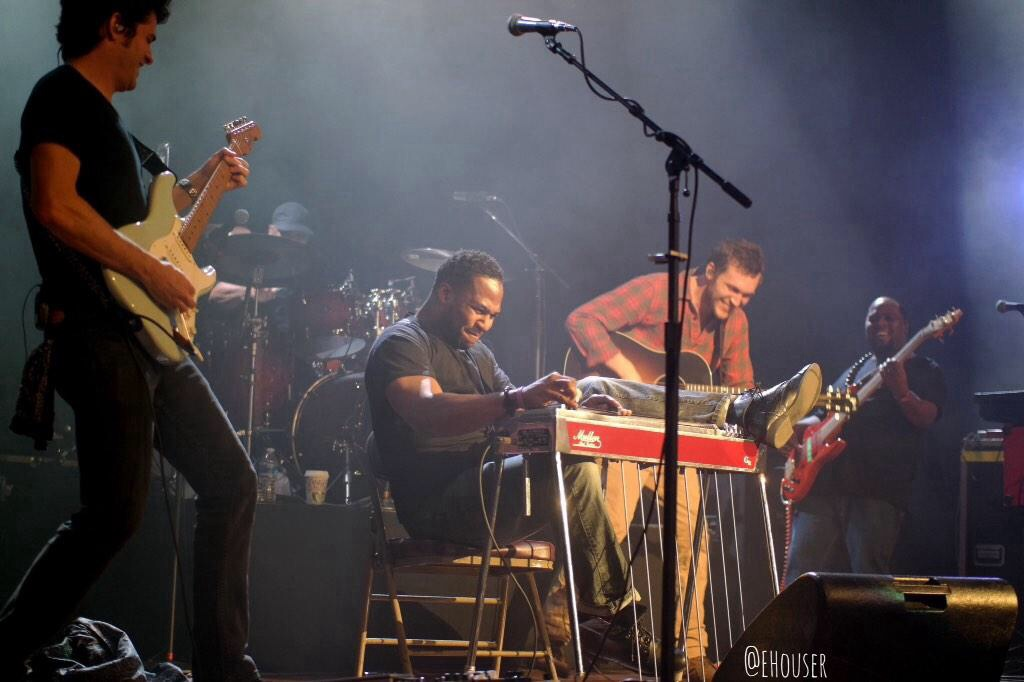 Phillip and Robert Randolph at the Ryman Theatre